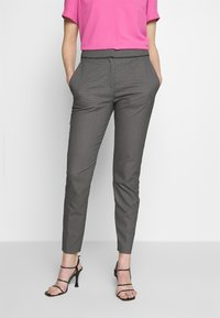 HUGO - THE CROPPED TROUSERS - Trousers - black - 2