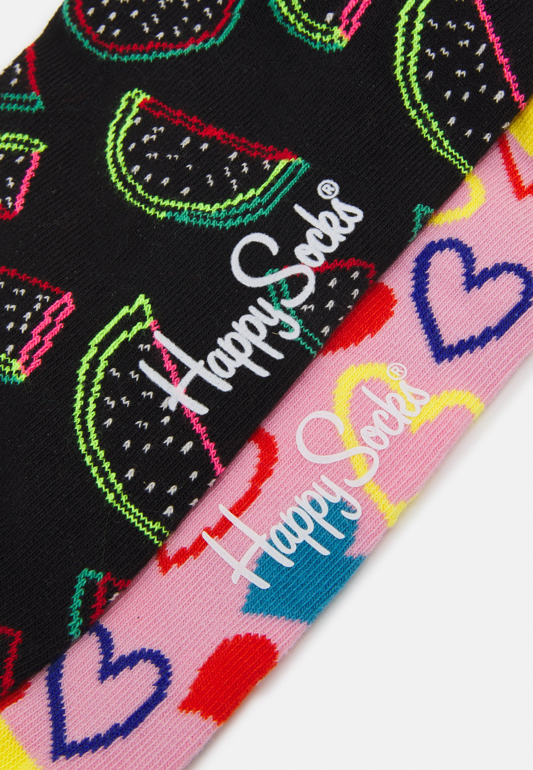 Women I HEART U WATERMELON 2 PACK UNISEX - Socks