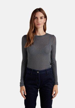 Long sleeved top - grigio