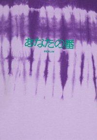 YOURTURN - UNISEX - T-shirt con stampa -  purple - 2