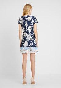 Betty & Co - Day dress - blue/rose - 3