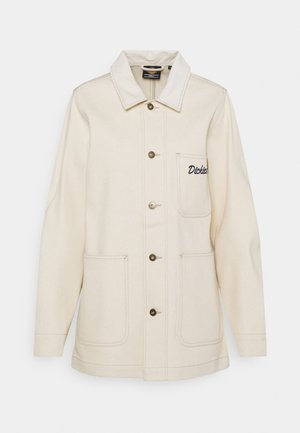 HALMA CHORE - Short coat - ecru