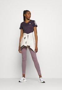 adidas Performance - OWN THE RUN TEE - T-shirts med print - purple - 1