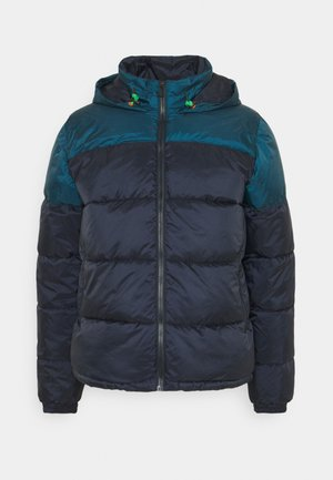 HOODED JACKET - Light jacket - dark blue