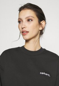 Carhartt WIP - TYPEFACE  - Sweatshirt - black/white - 3