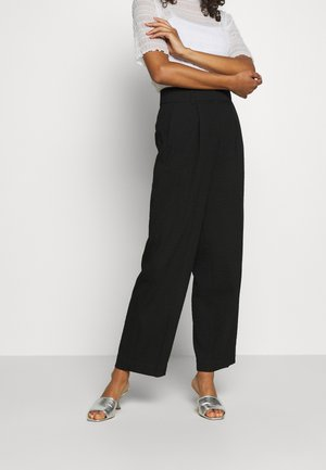 LUCCA PANTS - Trousers - black