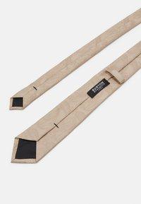Burton Menswear London - WEDDING CHAMP SET - Tie - neutral - 5