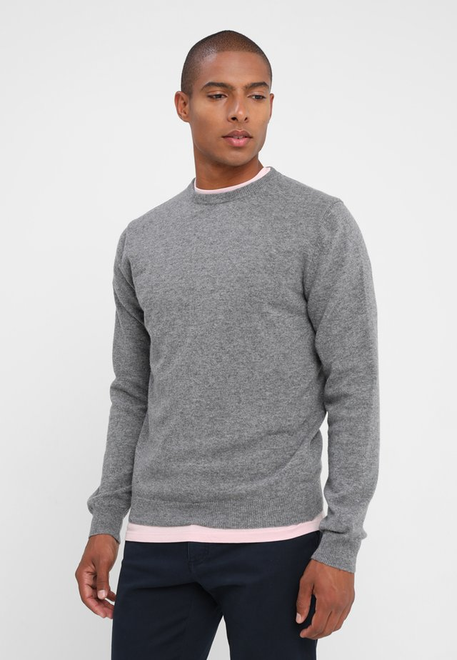 BASIC CREWNECK - Sweter - grey
