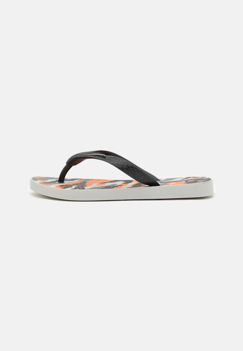 Ipanema - CLASSIC IX KIDS - Pool shoes - grey/black/orange