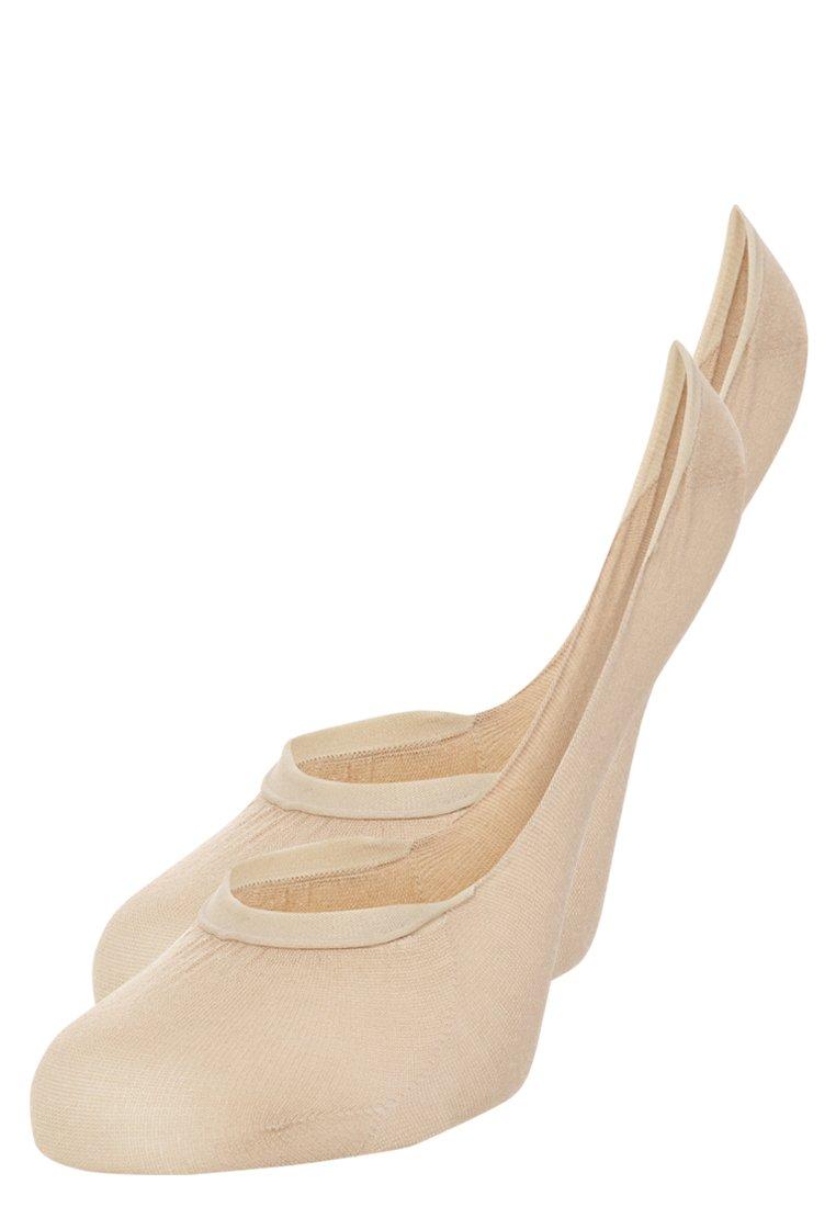 Donna 2 PACK - Calzini - beige