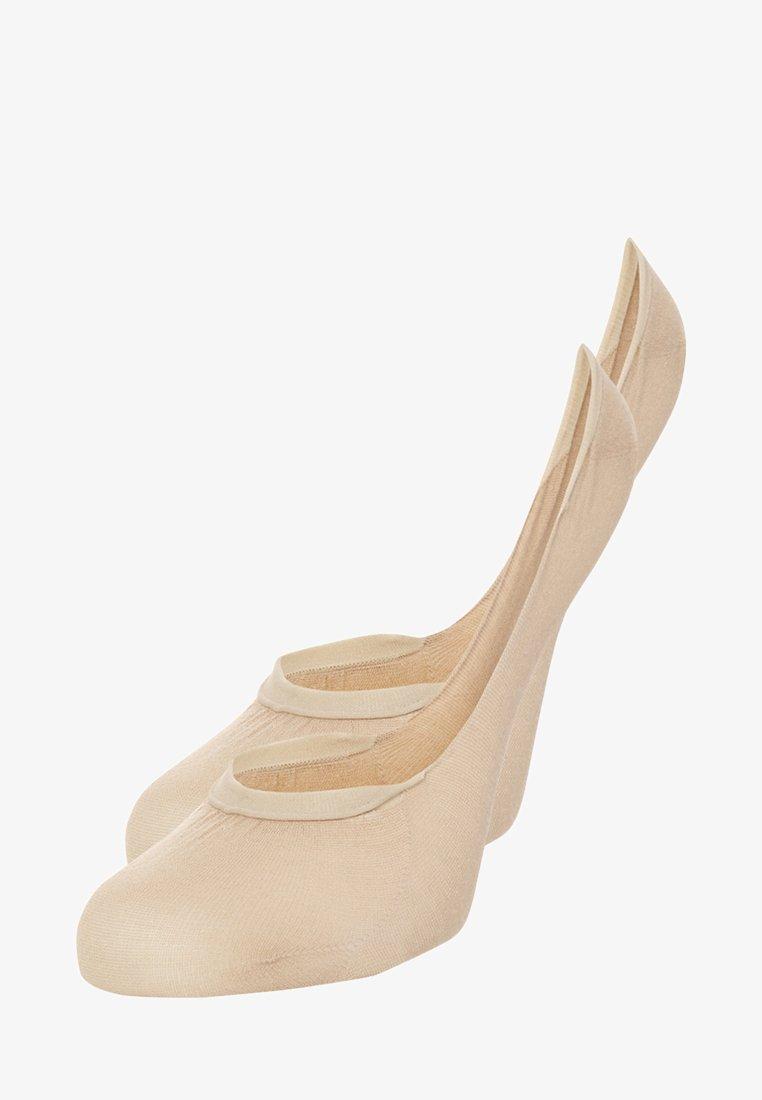 Tommy Hilfiger - 2 PACK - Trainer socks - beige