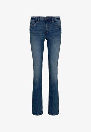 ALEXA - Straight leg jeans - stone wash denim