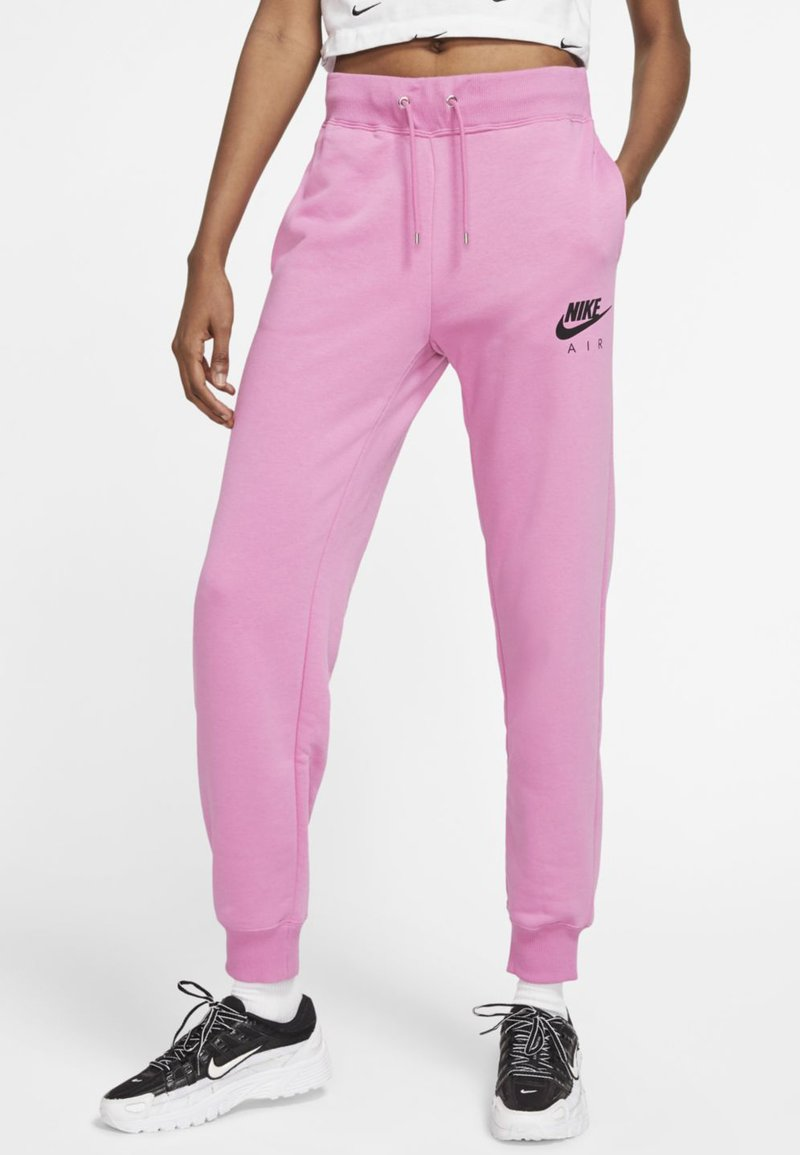 Nike Sportswear - AIR PANT - Tracksuit bottoms - magic flamingo/ice silver