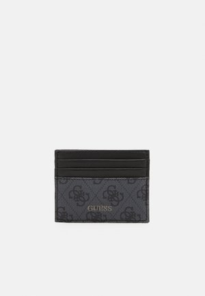 VEZZOLA CARD CASE UNISEX - Wallet - black