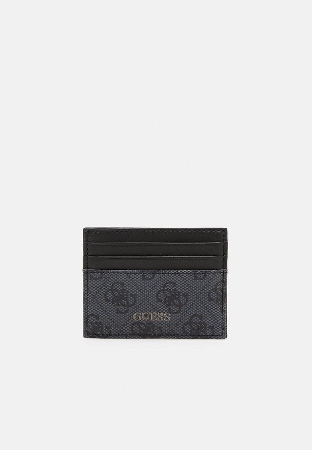 VEZZOLA CARD CASE UNISEX - Plånbok - black