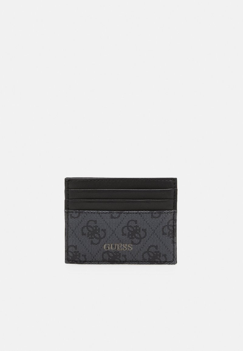 Guess - VEZZOLA CARD CASE UNISEX - Lommebok - black