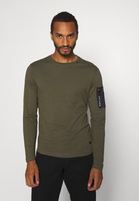 Replay - Maglietta a manica lunga - olive - 0
