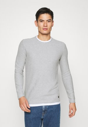 STRUCTURE LIGHT WEIGHT - Jumper - lava stone grey melange