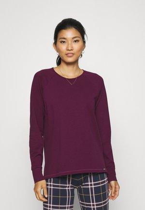 Long sleeved top - purple
