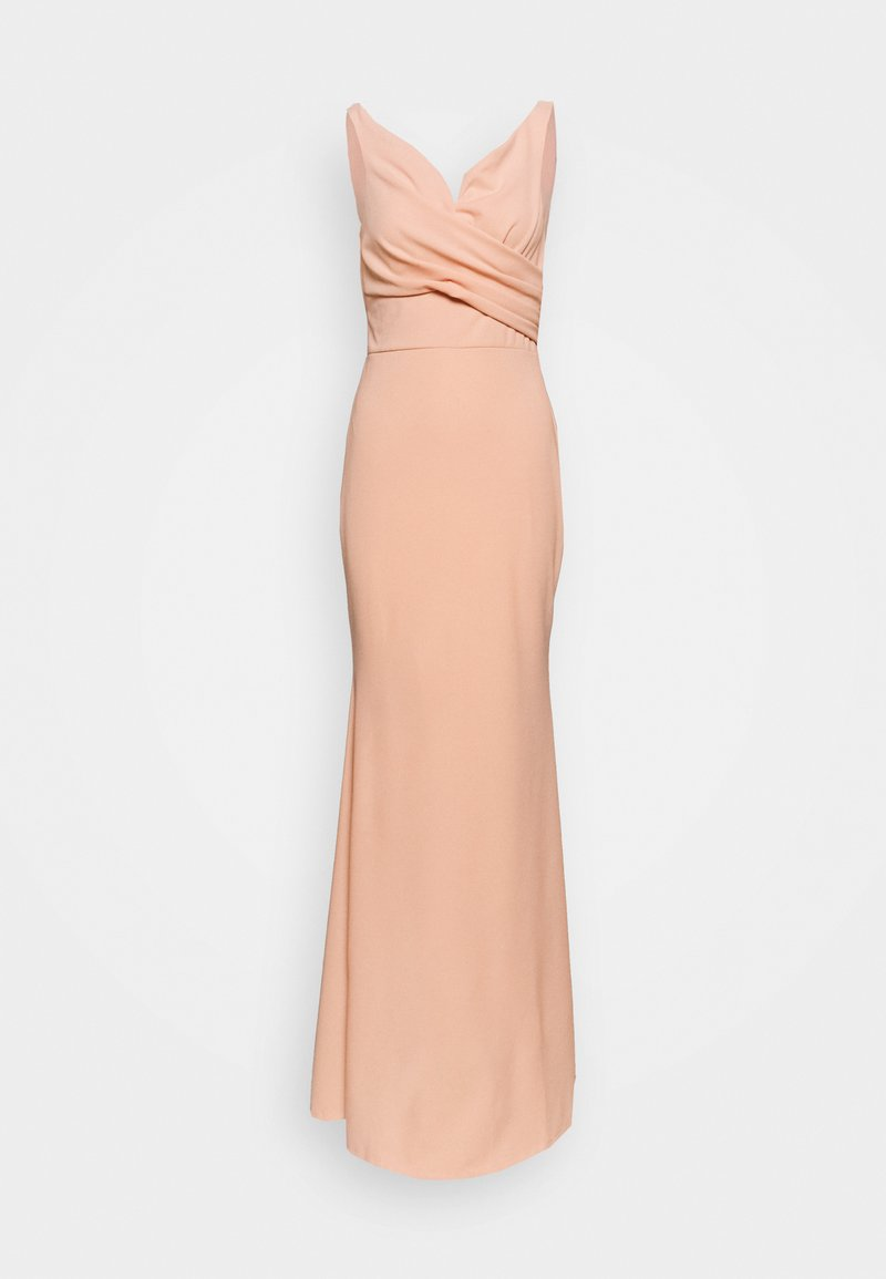 WAL G. - OFF THE SHOULDER DRESS - Vestido de fiesta - salmon