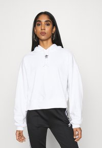 adidas Originals - HOODIE - Sweat à capuche - white - 0