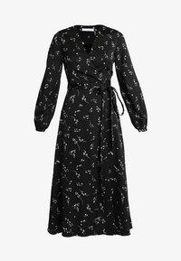 IVY & OAK - PRINTED WRAP  - Maxi dress - black - 4