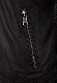 Capitano - IOWA - Leather jacket - dark brown - 4