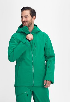 STONEY - Ski jacket - deep emerald