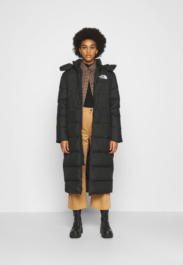 W TRIPLE C PARKA - Down coat - black
