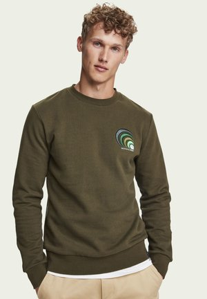 Sweatshirt - military green
