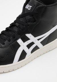ASICS SportStyle - JAPAN UNISEX - Sneakers high - black/white - 5