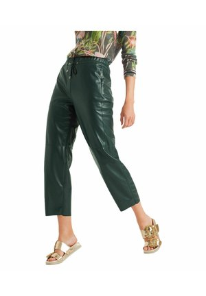 Trousers - dark green