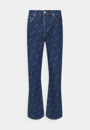 DIAGONAL  - Bootcut jeans - blue vintage denim