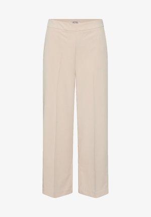 Trousers - creme rosé