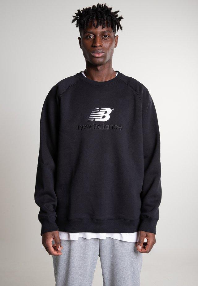 ATHLETICS PREMIUM ARCHIVE CREWNECK - Sweatshirt - black