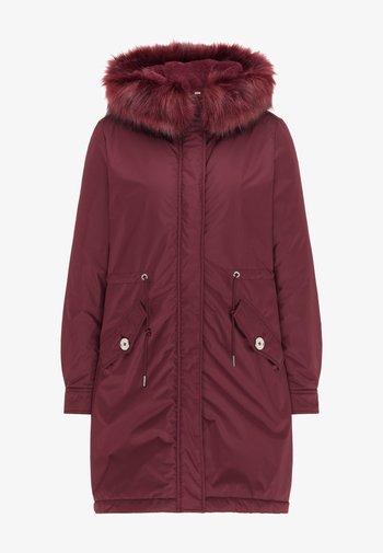 Winter coat - bordeaux