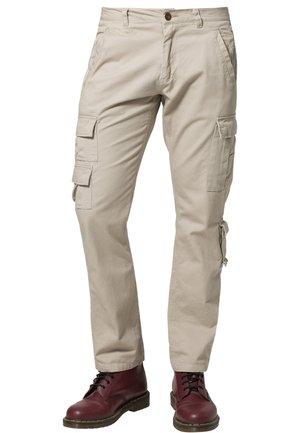 PLATOON - Cargo trousers - beige