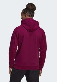 adidas Performance - MUST HAVES FULL-ZIP STADIUM HOODIE - Zip-up hoodie - purple - 1