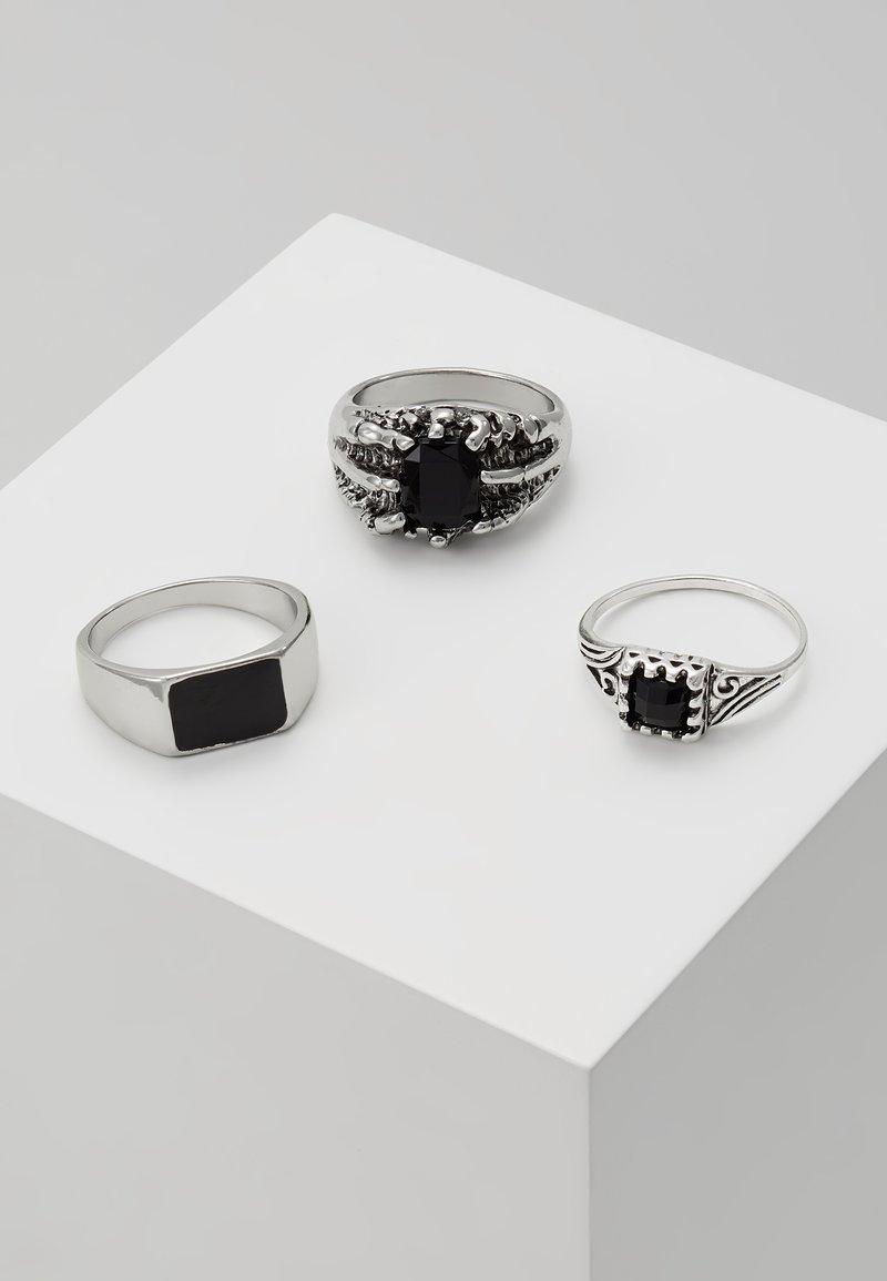 Topman - COIN SET - Ring - silver-coloured