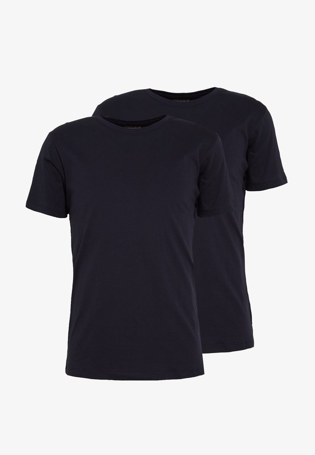 2 PACK - T-shirts - navy