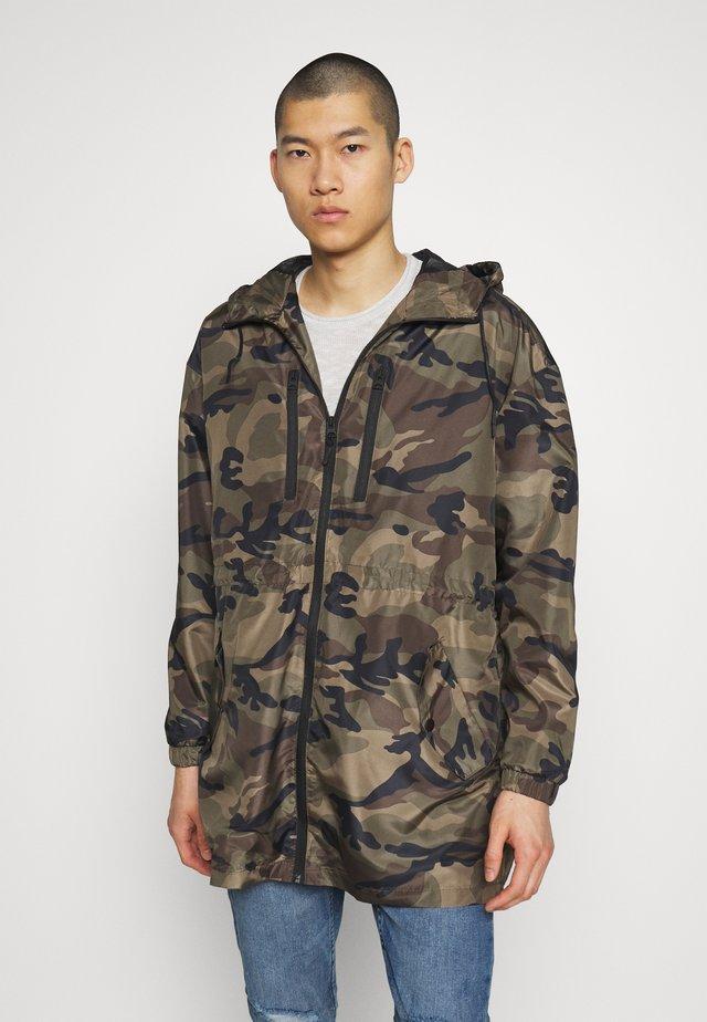 MCKAYCAMO - Classic coat - khaki