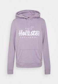 Hollister Co. - TECH CORE - Jersey con capucha - lavender - 0