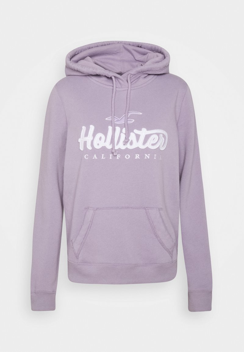 Hollister Co. - TECH CORE - Jersey con capucha - lavender