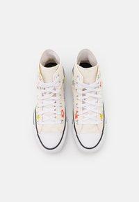 Converse - CHUCK TAYLOR ALL STAR GARDEN PARTY PRINT - Zapatillas altas - egret/black/white - 4
