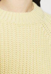 Weekday - ELINA - Jumper - light yellow - 6