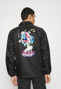 HUF - CHUN-LI & CAMMY COACH JACKET - Summer jacket - black - 2