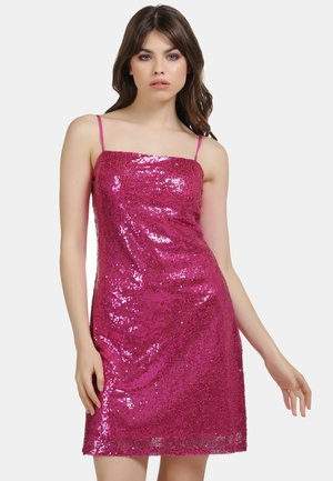 PAILLETTENKLEID - Cocktail dress / Party dress - pink