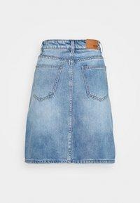 Object - OBJGLORIA SKIRT  - Jeansnederdel/ cowboy nederdele - light blue denim - 1