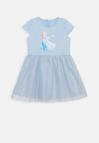NMFFROZEN REBEC DRESS - Jersey dress - blue