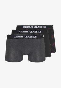 Urban Classics - 3 PACK - Panty - charcoal/funky/black - 4